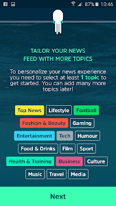 SQUID - your news buddy screenshot 0