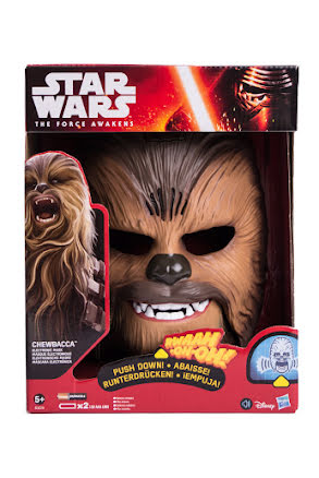 Mask Chewbacca med ljud