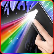 Color Flashlight- disco light && Torch LED Flash