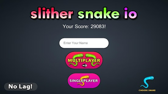 Slither Snake Io apk screenshot