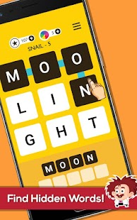 Word Trek - Word Brain streak - hand made puzzles- screenshot thumbnail