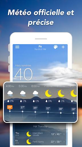 Prévisions météo & Widgets & Radar screenshot 2