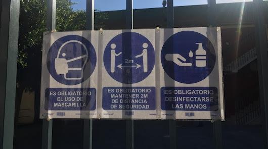 El coronavirus obliga a cerrar 18 aulas más desde el viernes en Almería