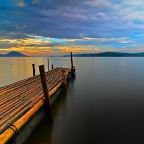 dermaga bambu by Muzakhir Rida - Landscapes Beaches