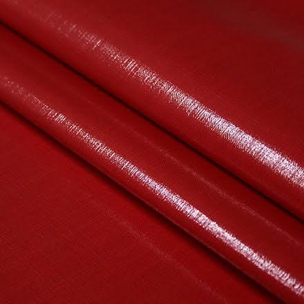 Plastat Tyg - röd