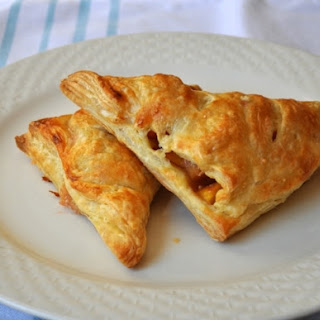 Easy Peach Turnovers.