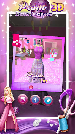 Prom Dress Designer 3D 2.0 screenshot 2088582