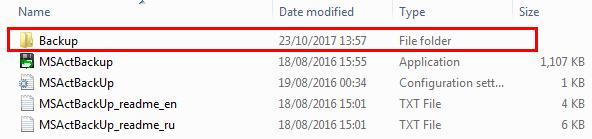 Sao lưu bản quyền Windows và Office với MSActBackUp