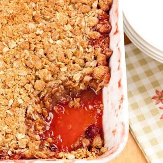 Apple Cranberry Oat Crumble Recipe