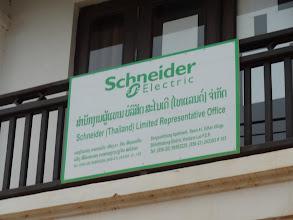 Photo: Schneider au Laos - Vientiane - Mai 2012