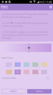 Irlen® Colored Overlays- screenshot thumbnail