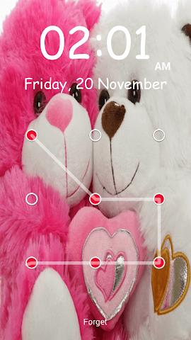 android Teddy Bear Pattern-Bildschirm Screenshot 19