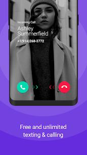 TextNow: Free Texting & Calling App Mod 6.9.0.0 Apk [Unlocked] 2