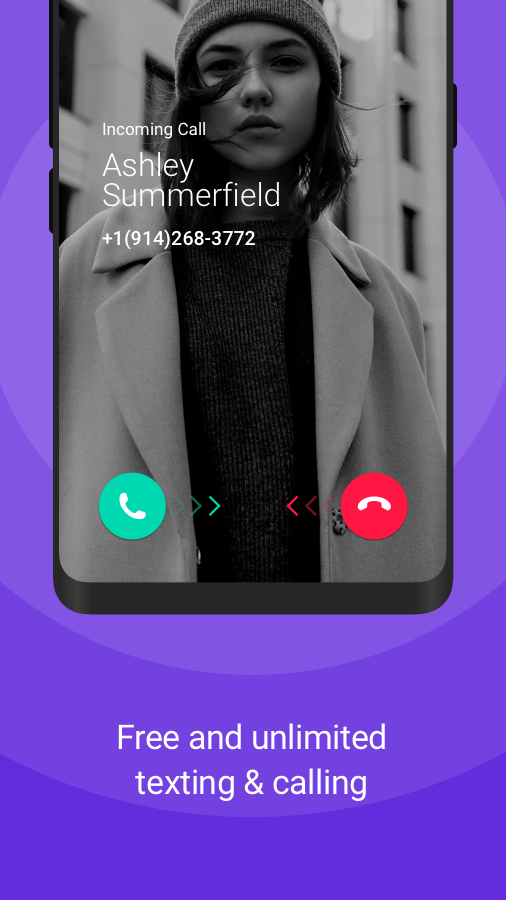 TextNow: Free Texting & Calling App Screenshot 1