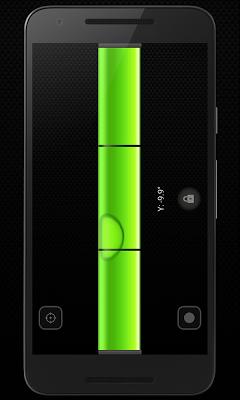 Precise bubble level - screenshot