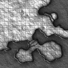 Photo: Here's the latest geomorph from this year's Map-a-Monday project:
