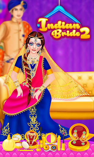 Royal Indian Doll 2 Wedding Salon Marriage Rituals android2mod screenshots 11