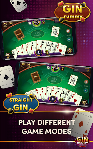 Gin Rummy - Online Card Game android2mod screenshots 15