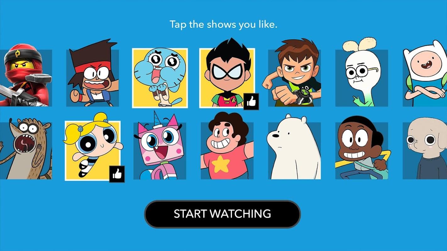 Cartoon Network App screenshots
