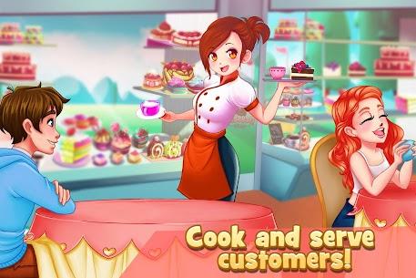 Dessert Chain: Café Waitress & Restaurant Chef 0.8.29 APK Mod for Android 1