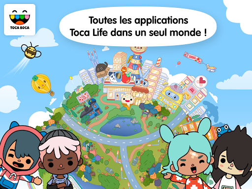 Toca Life: World  captures d'u00e9cran 1