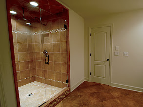 Photo: Custom shower in one of our MADISON homes