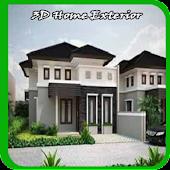 3D Home Exterior Design ideas