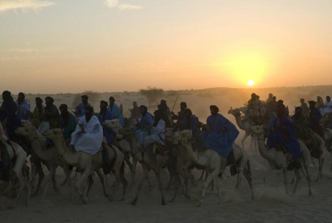 Foto: Hombres del desierto Festival del Desierto Mali (Foto de Alice Mutasa)