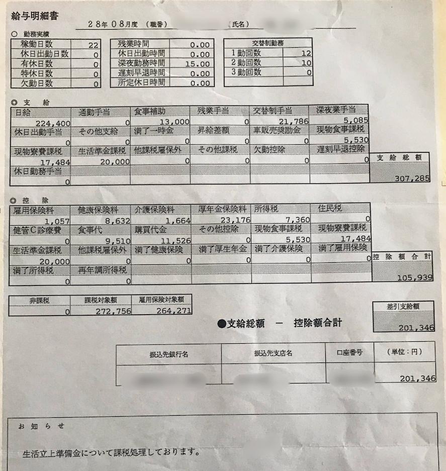 ホンダ狭山2016年8月明細