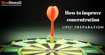 How to improve concentration during your UPSC CSE Preparation