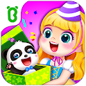 Little panda's birthday party icon