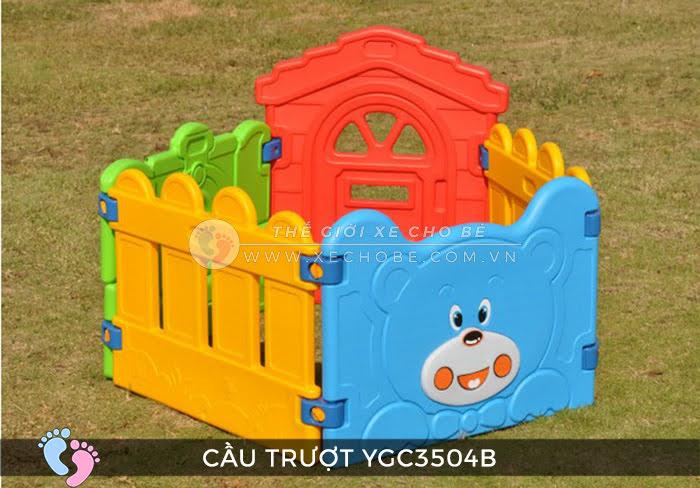 Nhà banh mini cho bé YGC-3504B 7