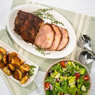 Pork Shoulder with Wine Gravy.