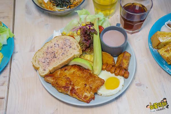 高雄早午餐|咘然居早午餐buranchi -平價美味餐點選擇多份量大也是親子同樂的聚餐新選擇!