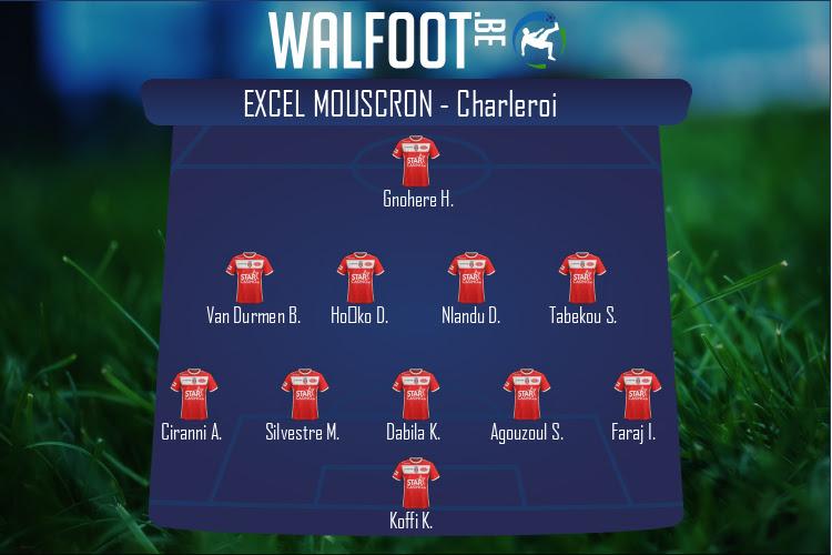 Excel Mouscron (Excel Mouscron - Charleroi)