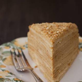 """""""Medovik"""" - Honey Cake."""