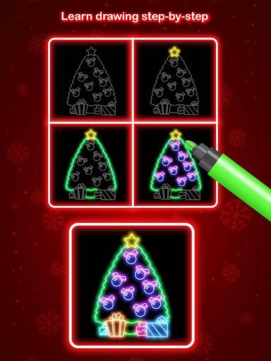 Draw Glow Christmas 2020 screenshots 10