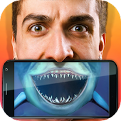 Shark Face Scanner Prank