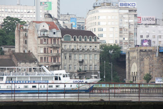 Photo: Day 80 - Belgrade Skyline from the Southern Bank of the Danube #2