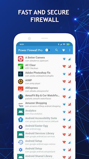 Power Firewall Pro screenshot 1
