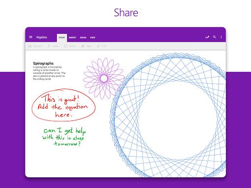 Microsoft OneNote screenshot 9
