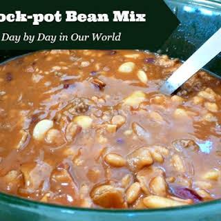 Crock-pot Bean Mix.