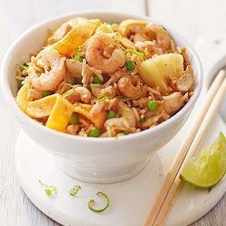Prawn, Pineapple & Cashew Fried Rice Recipe
