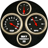 Muscle Car Watch Face
