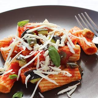 Pasta Alla Norma, with Tomato Sauce and Eggplant Recipe