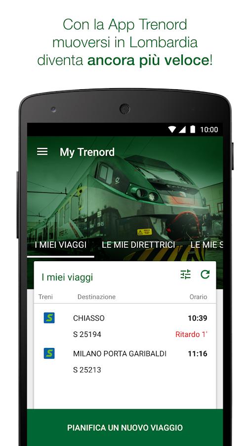 Trenord - Orari e Info Treni - screenshot