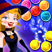Magic Witch Bubble Shooter