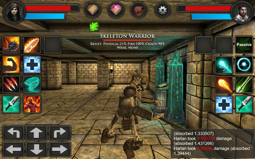 Moonshades: a dungeon crawler RPG 1.4.10 screenshots 2