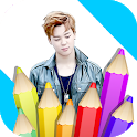 Coloring Book BTS icon