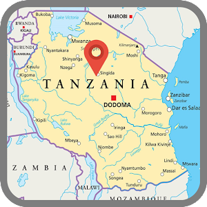 Tanzania Map Android Apps On Google Play - Tanzania map